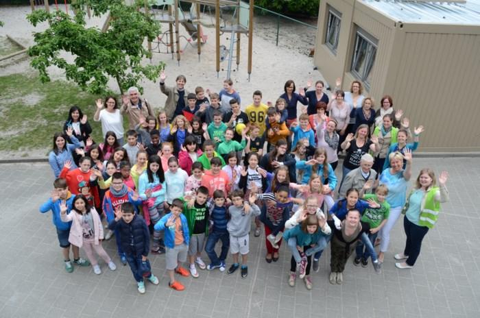 Spaanse leerlingen brachten een bezoek aan De Bosmier