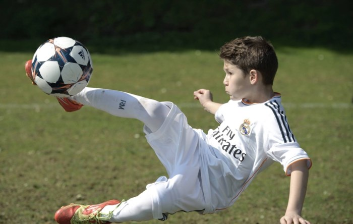 Real Madrid zoekt talent in Edegem