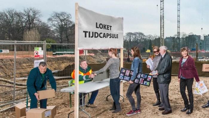 Tijdcapsule onder nieuw Provinciehuis mag in 2115 worden opgegraven