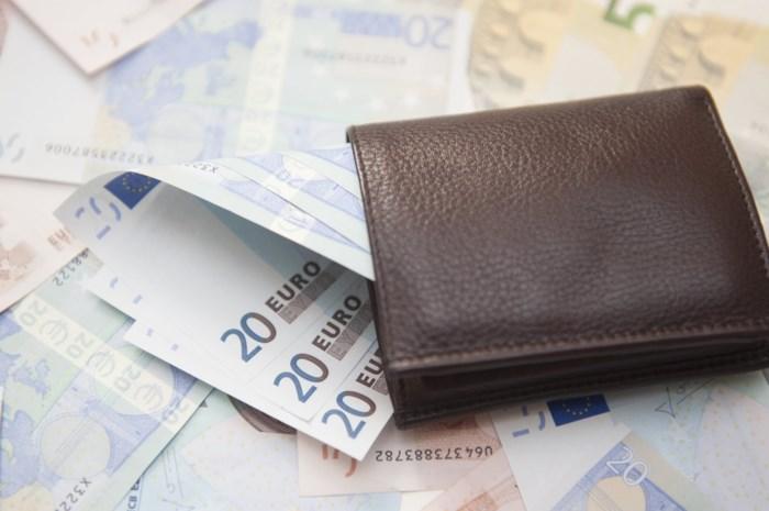Geld lenen levert België 1,8 miljoen euro op