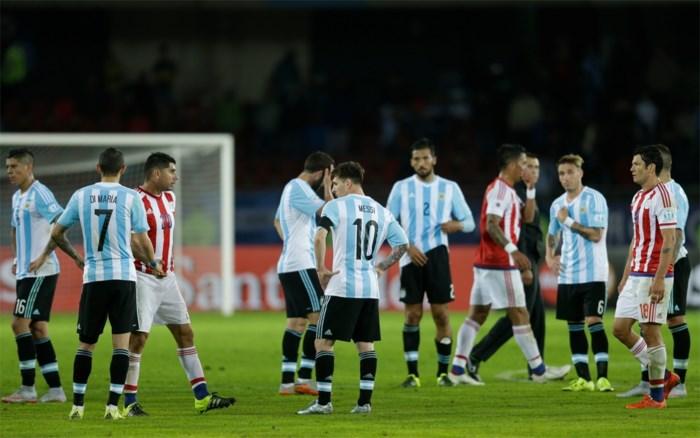 Argentinië start met valse noot op Copa America: 2-2 tegen Paraguay