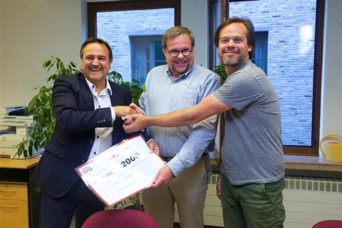 Liers Cultuurcentrum schenkt 2000 euro aan De Stappaert