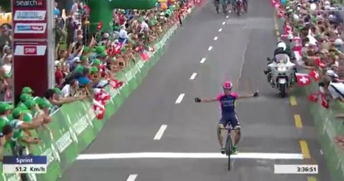 Kroaat wint in Ronde van Zwitserland, Dumoulin behoudt leiderstrui