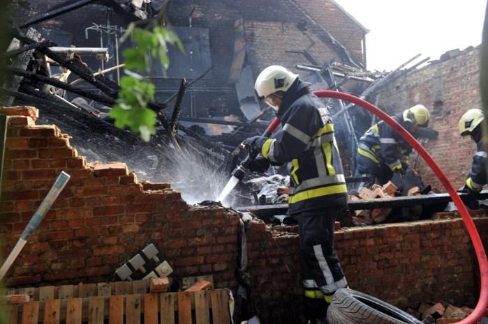 Duizenden euro's aan muziekmateriaal blijven in brand
