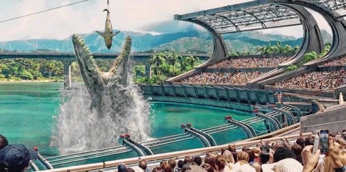 Nieuwe Jurassic Park-film breekt record