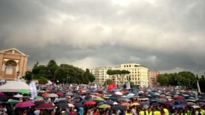 IN BEELD. Honderdduizenden manifesteren in Rome tegen samenlevingscontract homoseksuelen