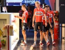 Lotto Soudal verkent woensdag tweede etappe