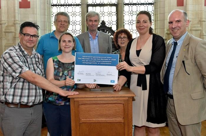 Stad, Sociaal Huis en VDAB willen meer Mechelaars aan werk helpen
