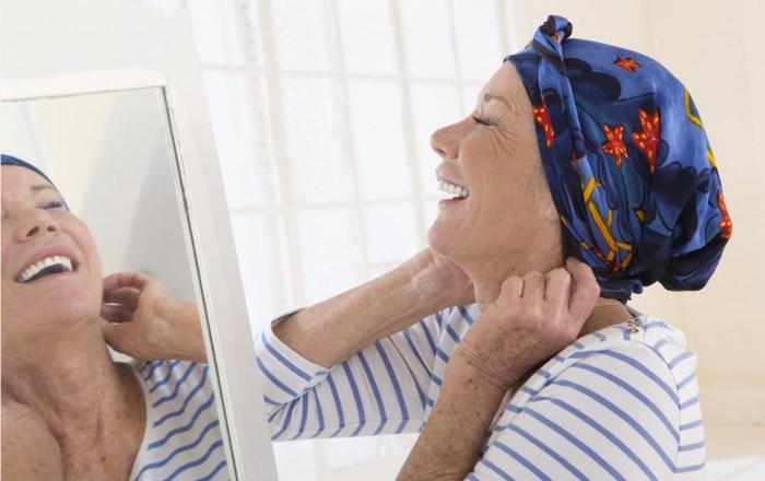 Vrouw met borstkanker heeft grappig verzoek