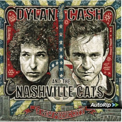 CD. Dylan, Cash and the Nashville Cats - A New Music City (****)