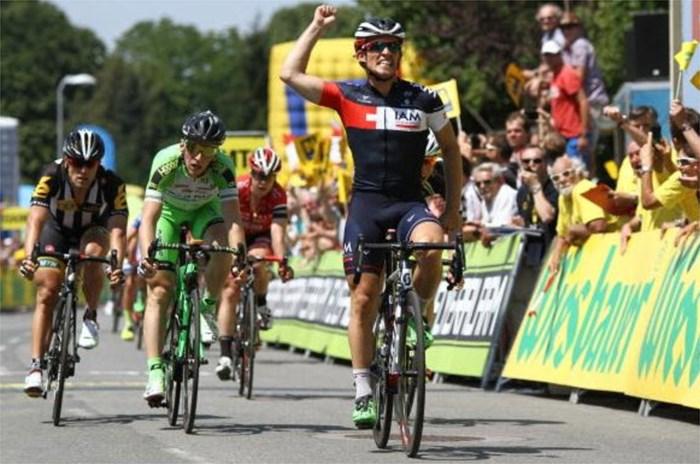 Sondre Holst Enger sprint naar etappewinst in Ronde van Oostenrijk