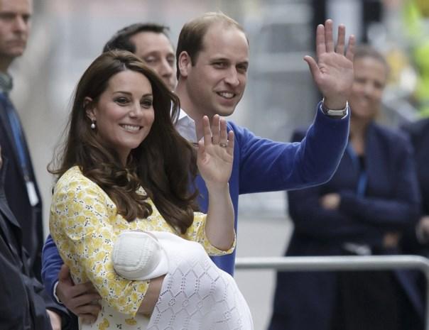 William en Kate kiezen oude vrienden als peter en meter voor hun dochter