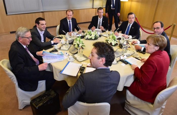 Eurolanden dinsdag bijeen na Grieks referendum