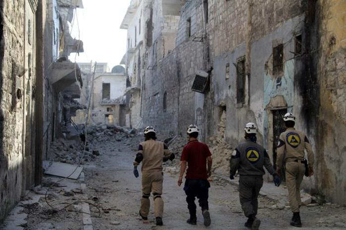 Vijfentwintig soldaten Syrisch leger komen om bij zelfmoordaanslag in Aleppo