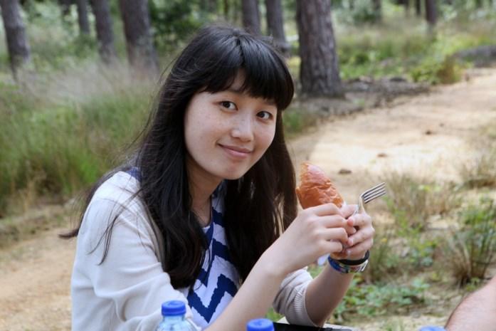 Chinese Zhao Dandan zoekt mensen die met haar willen fietsen