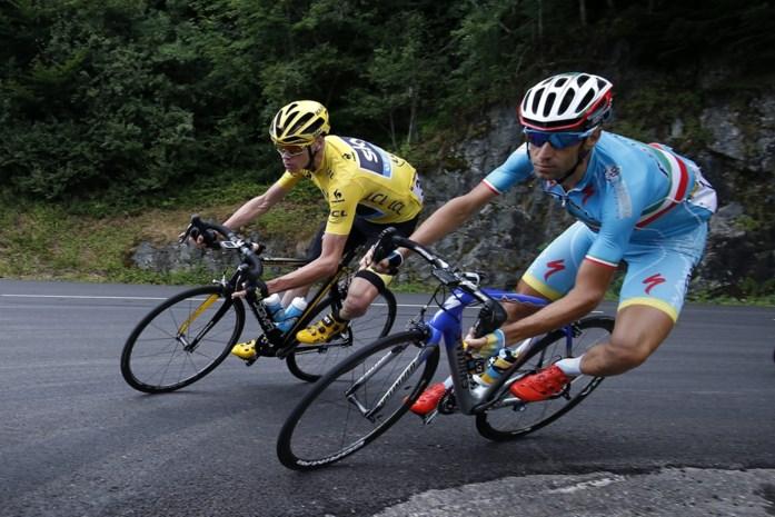 Froome gaat bijzonder boos verhaal halen bij Nibali