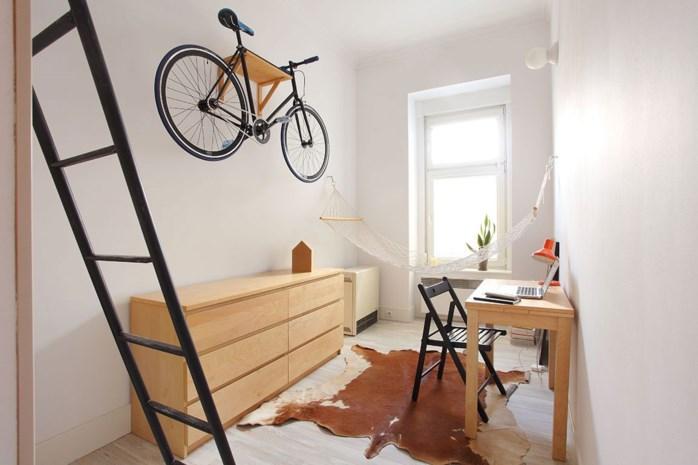 Zo haal je het beste uit een appartement van dertien vierkante meter