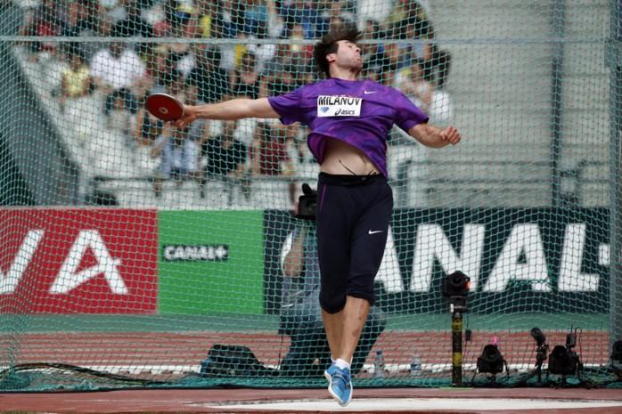 Belg wint het discuswerpen op Diamond League Londen