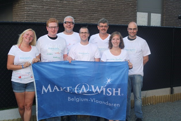 Op Dodentocht voor Make A Wish