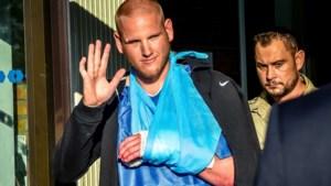 Amerikaanse Thalys-held verlaat ziekenhuis
