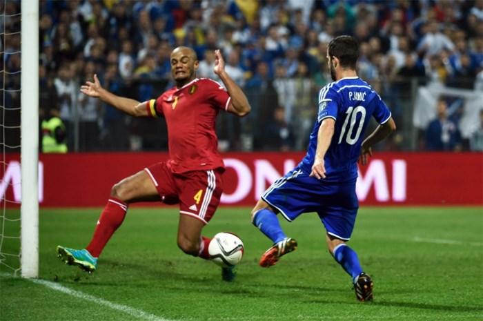 Belgen ontmoeten Bosniërs in uitverkocht stadion