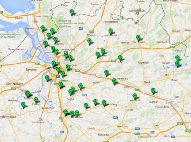 """OVERZICHT. """"Deze natuurgebieden in de provincie Antwerpen zijn bedreigd"""""""