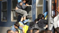IN BEELD. Chaos in station Boedapest