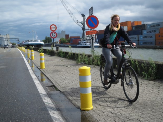 Veiliger fietsen langs kanaal