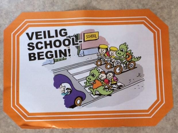 CD&V Wuustwezel doet mee aan de actie 'Veilig schoolbegin'