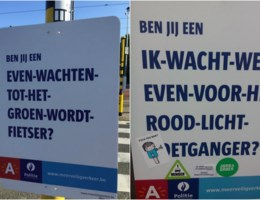 Stad dient criticasters van verkeerscampagne van antwoord