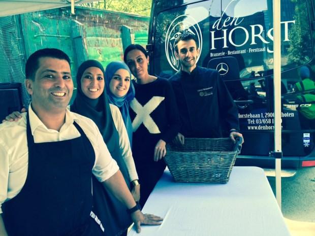 Uitbater brasserie Den Horst bereidt 410 maaltijden voor vluchtelingen