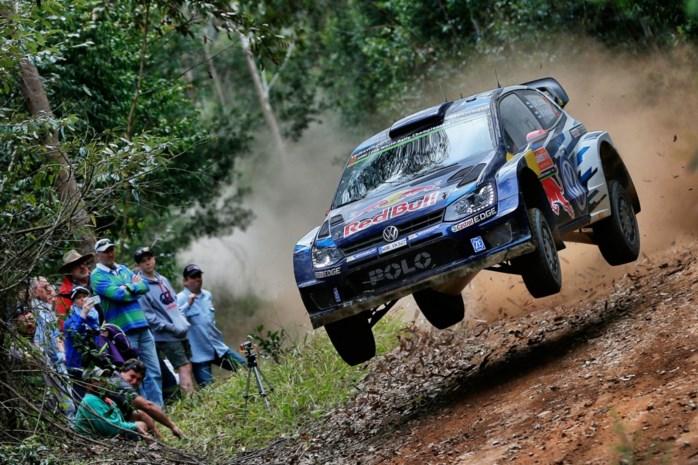 Latvala leidt na eerste dag in Rally van Australië
