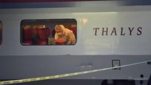 Uitgebreid sporenonderzoek aan de gang in trein