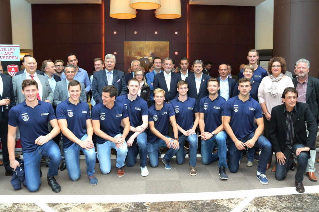Spelersgroep Van Antwerpen Is Compleet (Antwerpen)