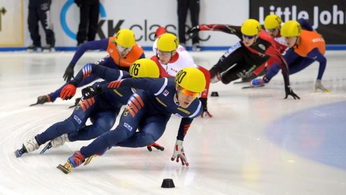 Zes Belgische shorttrackers naar seizoensopener in Calgary