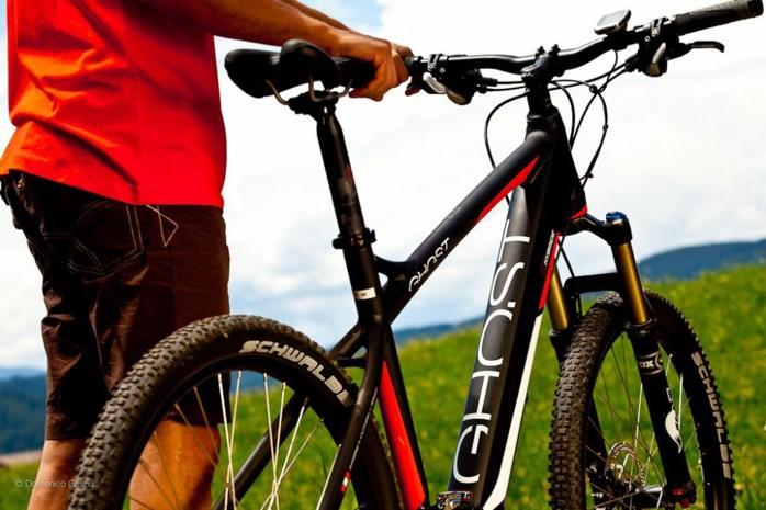 Start to mountainbike