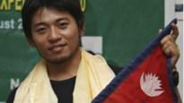 Japanner met één vinger moet beklimming Everest weer opgeven
