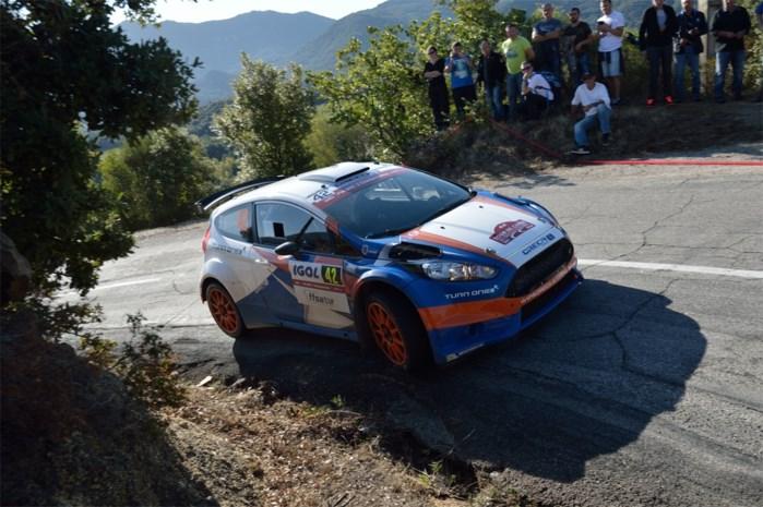 Belgen scoren dichte ereplaatsen in GTC Rally