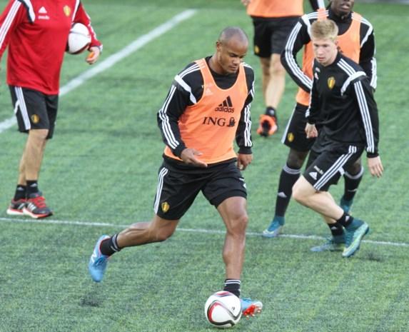 Geen Vincent Kompany op wedstrijdblad tegen Andorra