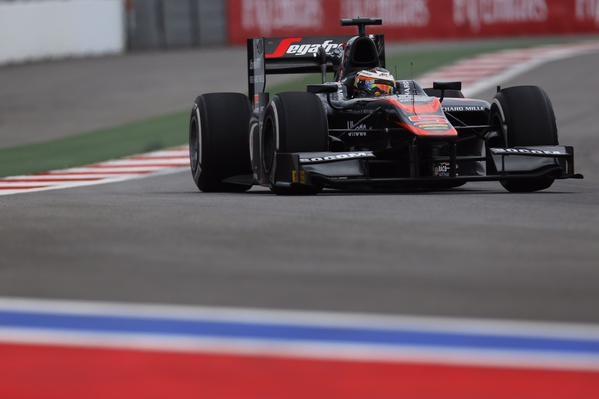 Stoffel Vandoorne voorlopig nog geen GP2-kampioen