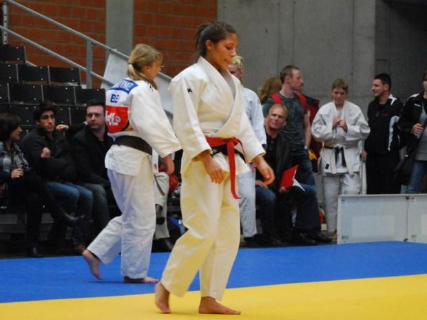 Judoka Anne-Sophie Jura vijfde in Lissabon