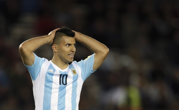 Sergio Agüero (Manchester City) is maand out