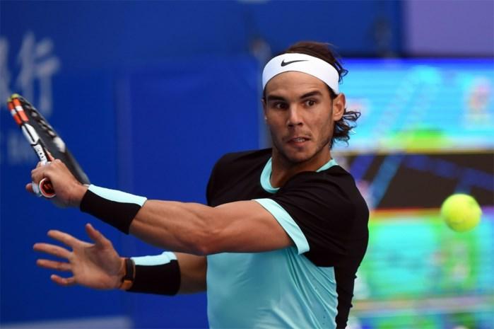 Rafael Nadal is eerste finalist in Peking