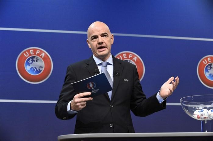 Lotingpresentator Infantino stelt zich kandidaat voor FIFA-voorzitterschap