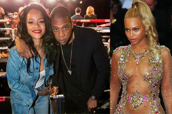 'Jay Z bedroog Beyoncé nooit met Rihanna'
