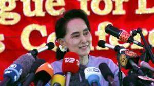 """Aung San Suu Kyi """"zal regering leiden"""" als haar partij verkiezingen in Myanmar wint"""