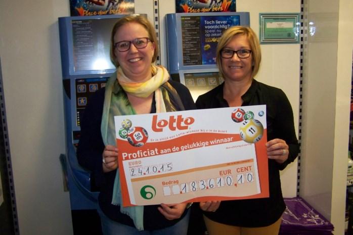 Klant De Perswinkel wint 183.000 euro met Lotto