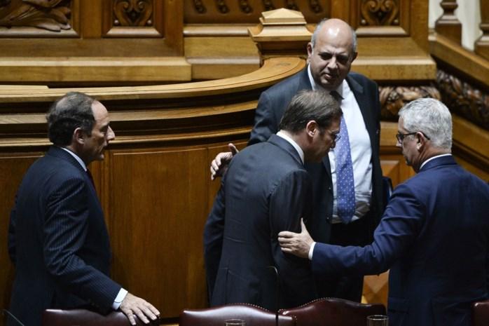 Portugese regering moet opstappen na vertrouwensstemming