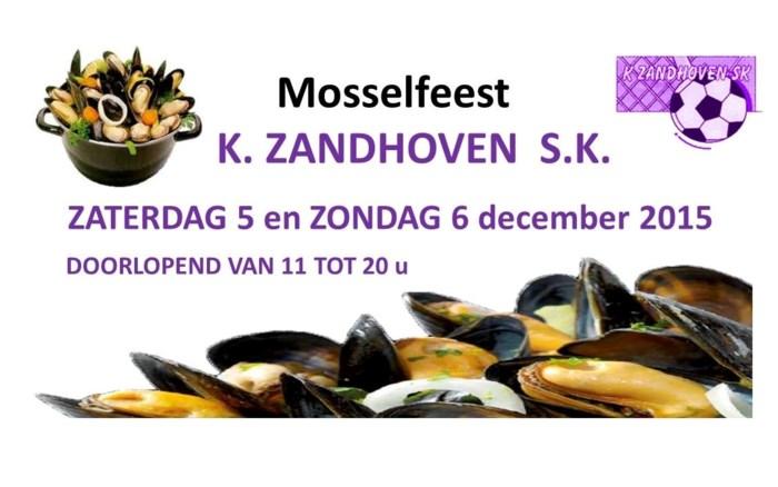 Sinterklaas brengt mosselen bij K Zandhoven SK