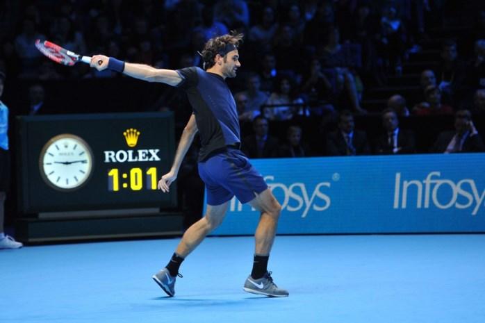 Federer treft Djokovic in finale World Tour Finals